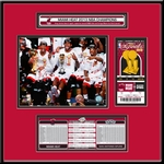 2013 NBA Finals�Ticket Frame Jr - Miami Heat