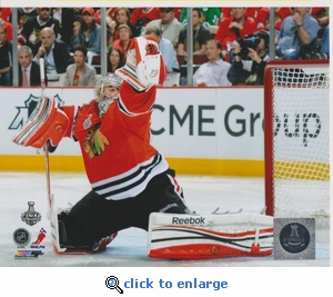 2013 NHL Stanley Cup Corey Crawford 8x10 photo - Chicago Blackhawks