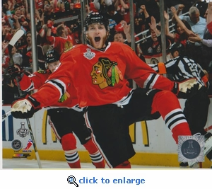 2013 NHL Stanley Cup Patrick Kane 8x10 photo - Chicago Blackhawks