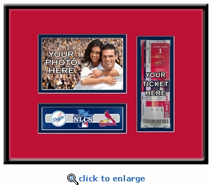 2013 NLCS Your 4x6 Photo Ticket Frame - St Louis Cardinals