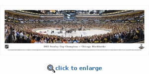 2013 Stanley Cup Champions - Chicago Blackhawks - Panoramic Photo (13.5 x 40)