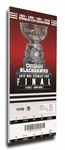 2013 NHL Stanley Cup Final Canvas Mega Ticket - Chicago Blackhawks