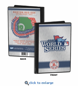 2013 World Series 4x6 Mini Photo Album - Boston Red Sox
