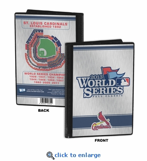 2013 World Series 4x6 Mini Photo Album - St Louis Cardinals