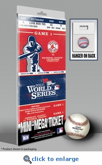 2013 World Series Mini-Mega Ticket - Boston Red Sox