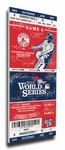 2013 World Series Signature Canvas Mega Ticket - Boston Red Sox