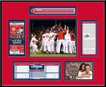 2013 World Series Ticket Frame - Boston Red Sox