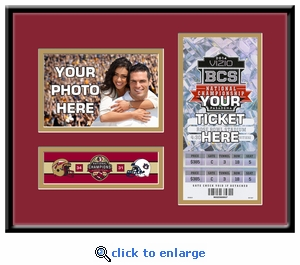 2014 BCS Championship Game 4x6 Photo Ticket Frame - Florida State Seminoles