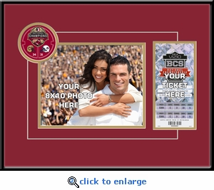 2014 BCS Championship Game Your 8x10 Photo Ticket Frame - Florida State Seminoles