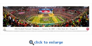 2014 College Football Champions - Ohio State Buckeyes - Panoramic Photo (13.5 x 40)