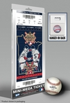 2014 MLB Home Run Derby Mini-Mega Ticket, Twins Host - Yoenis Cespedes, A's
