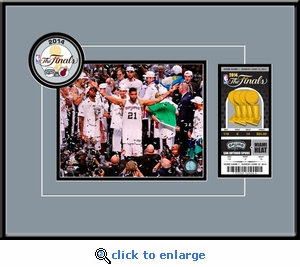2014 NBA Champions�8x10 Photo Ticket Frame�- San Antonio Spurs