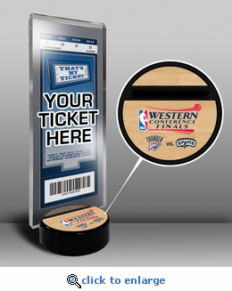 2014 NBA Western Conference Finals Ticket Stand - Thunder vs Spurs