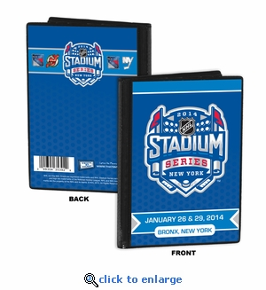 2014 NHL Stadium Series 4x6 Photo Album - Devils vs Rangers