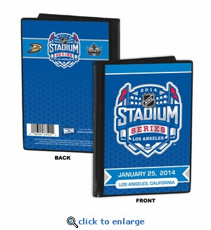 2014 NHL Stadium Series 4x6 Photo Album - Ducks vs Kings