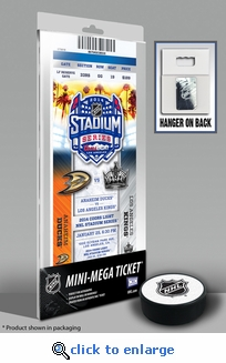 2014 NHL Stadium Series Mini-Mega Ticket - Ducks vs Kings