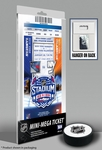2014 NHL Stadium Series Mini-Mega Ticket - Islanders vs Rangers