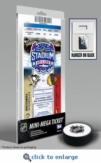 2014 NHL Stadium Series Mini-Mega Ticket - Penguins vs Blackhawks