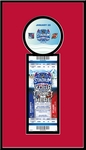 2014 NHL Stadium Series Single Ticket Frame - Devils vs Rangers