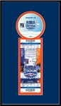 2014 NHL Stadium Series Single Ticket Frame - Islanders vs Rangers