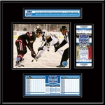 2014 NHL Stadium Series Ticket Frame Jr - Penguins vs Blackhawks