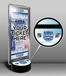 2014 NHL Stadium Series Ticket Display Stand - Devils vs Rangers