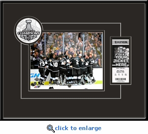 2014 NHL Stanley Cup Final 8x10 Photo Ticket Frame�- Los Angeles Kings