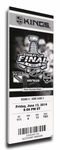 2014 NHL Stanley Cup�Final Canvas Mega Ticket�- Los Angeles Kings