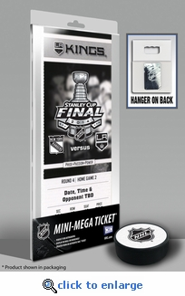 2014 NHL Stanley Cup Final Commemorative Mini-Mega Ticket - Los Angeles Kings