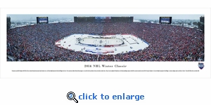 2014 NHL Winter Classic - Maple Leafs vs Red Wings - Panoramic Photo (13.5 x 40)