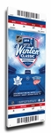2014 NHL Winter Classic Canvas Mega Ticket - Maple Leafs vs Red Wings