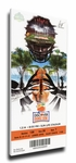 2014 Orange Bowl Canvas Mega Ticket - Clemson Tigers