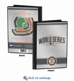 2014 World Series 4x6 Mini Photo Album - San Francisco Giants