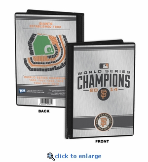 2014 World Series Champions 4x6 Mini Photo Album - San Francisco Giants