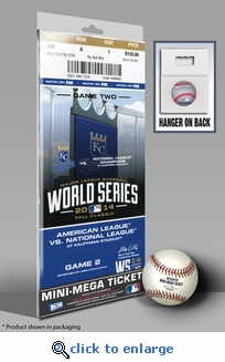2014 World Series Mini-Mega Ticket - Kansas City Royals