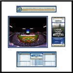 2014 World Series Ticket Frame Jr - Kansas City Royals