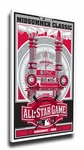 2015 MLB All-Star Game Sports Propaganda Canvas Print - Cincinnati Reds