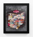 2015 MLB All-Star Game State of Mind Framed Print - Cincinnati Reds