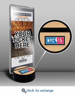 2015 NBA All-Star Game Ticket Display Stand - New York