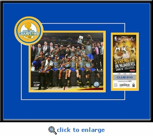 2015 NBA Champions�8x10 Photo Ticket Frame - Golden State Warriors