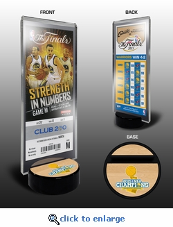 2015 NBA Champions Commemorative Ticket Stand - Golden State Warriors