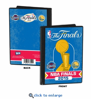 2015 NBA Finals 4x6 Photo Album / Brag Book - Cavaliers vs Warriors