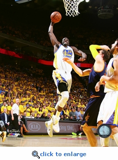 2015 NBA Finals Game 1 - Draymond Green 8x10 Photo - Golden State Warriors