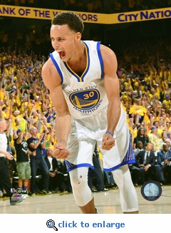 2015 NBA Finals Game 5 - Stephen Curry 8x10 Photo - Golden State Warriors
