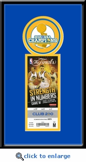 2015 NBA Finals Single�Ticket Frame - Golden State Warriors