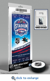 2015 NHL Stadium Series Mini-Mega Ticket - Kings vs Sharks
