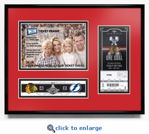 2015 NHL Stanley Cup Final 5x7 Photo &�Ticket Frame - Chicago Blackhawks