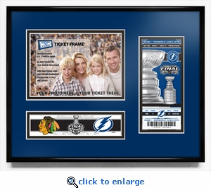 2015 NHL Stanley Cup Final 5x7 Photo &�Ticket Frame - Tampa Bay Lightning