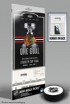 2015 NHL Stanley Cup Final Mini-Mega Ticket - Chicago Blackhawks