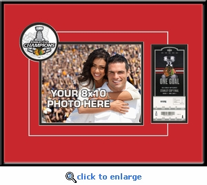 2015 NHL Stanley Cup Final Your 8x10 Photo &�Ticket Frame - Chicago Blackhawks